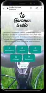 Itinérance à Vélo le long de la Garonne