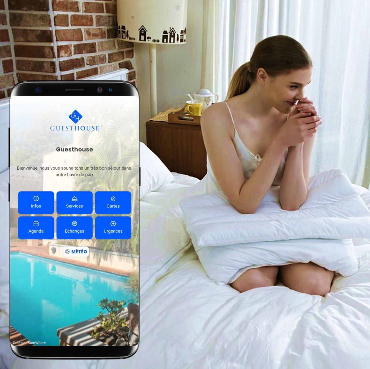 hébergement et conciergerie digitale