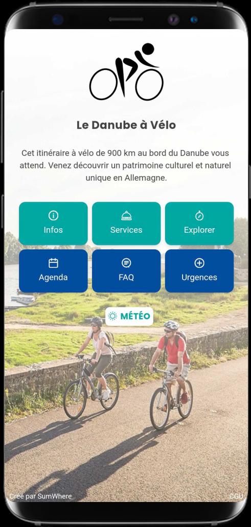 Smartphone affichant un carnet de route